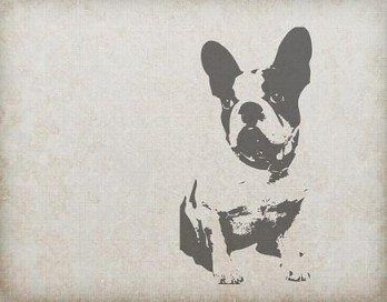 Dibujo bulldog frances